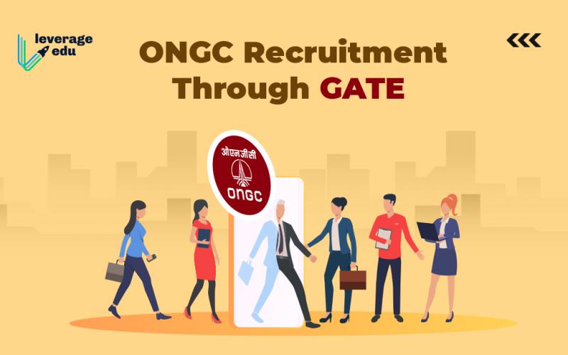 ONGC Recruitment Through GATE