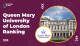 Queen Mary University of London Ranking