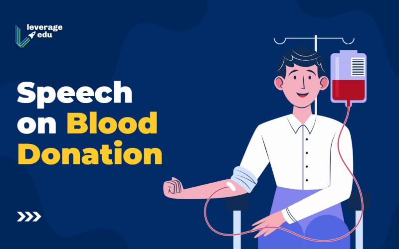 Speech on Blood Donation