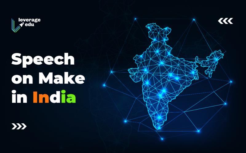 Speech on Make in India