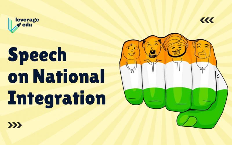 Speech on National Integration