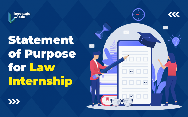 Statement of Purpose for Law Internship