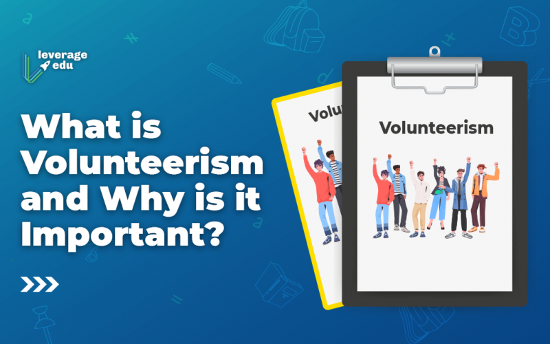 What is Volunteerism and Why is it Important?