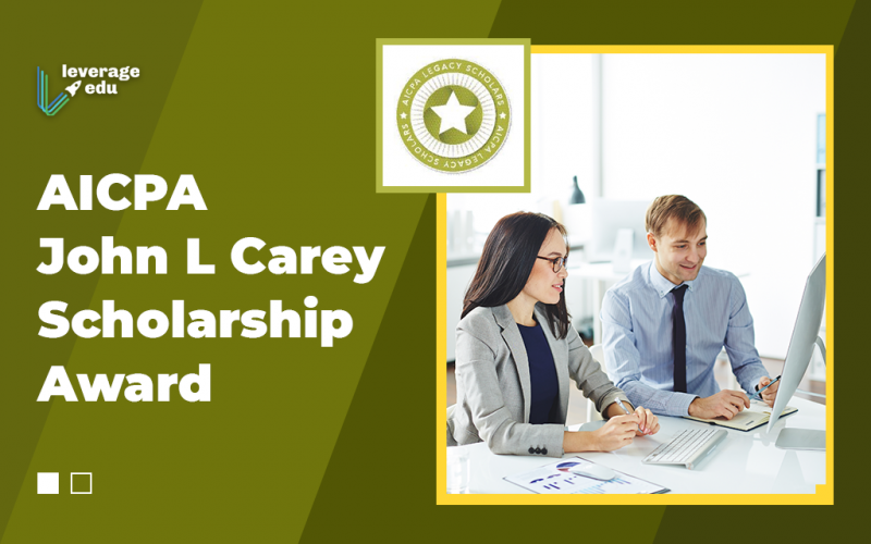 AICPA John L Carey Scholarship Award