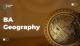 BA Geography
