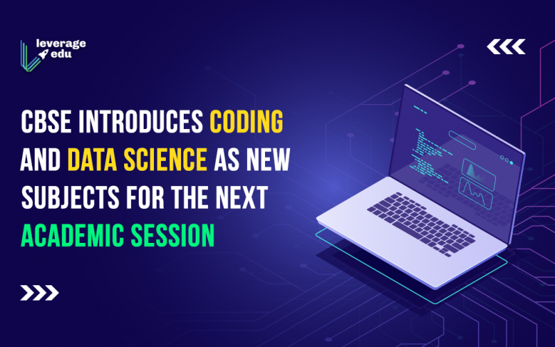 CBSE introduces coding and data science as new subjects for the next academic session