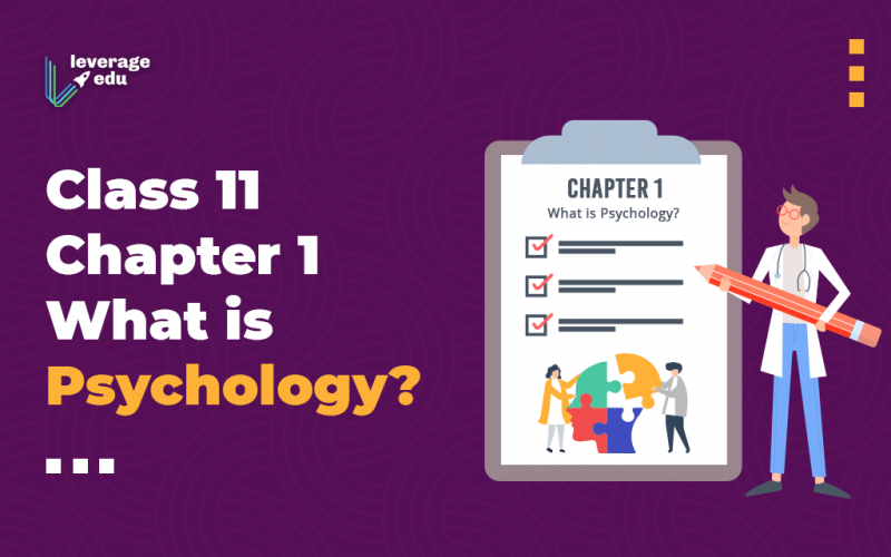 Class 11 Chapter 1 What is Psychology