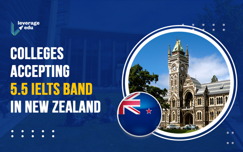 Colleges Accepting 5.5 IELTS Band in New Zealand
