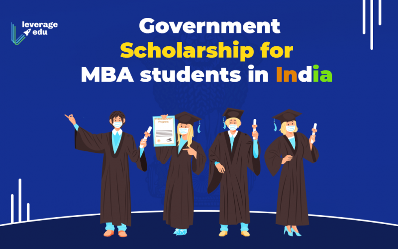 Government Scholarship for MBA students in India