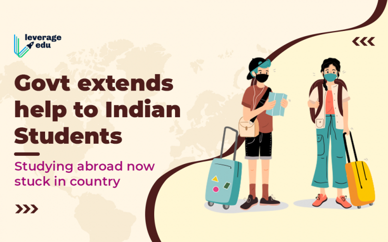 Govt Helps Indian Study Abroad Students