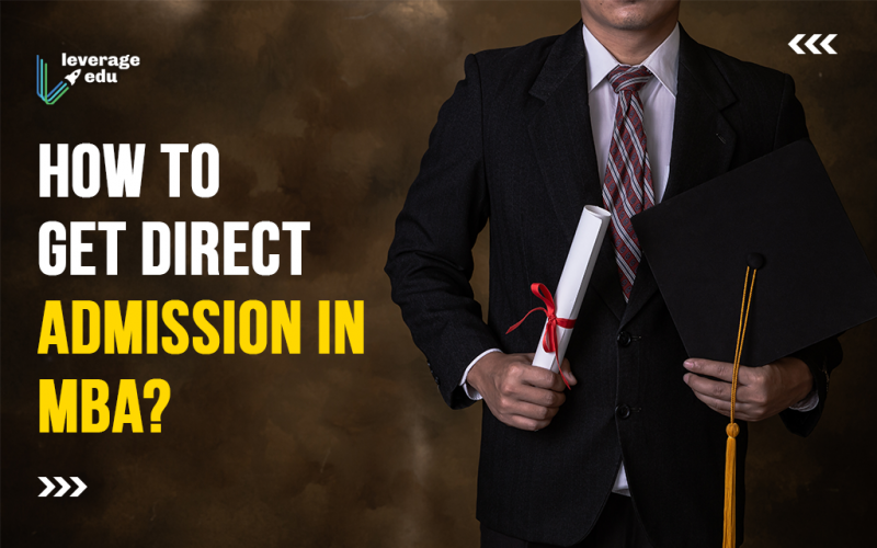 How to get direct admission in MBA