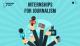 Internships for Journalism