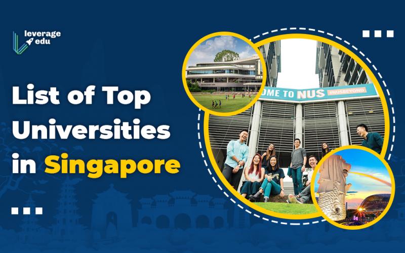 List of Top Universities in Singapore