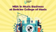 MBA in Music Business at Berklee College of Music