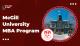 McGill University MBA Program