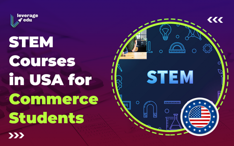 STEM Courses in USA for Commerce Students