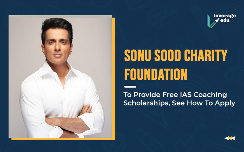 Sonu Sood Charity Foundation To Provide Free IAS Coaching Scholarships, See How To Apply