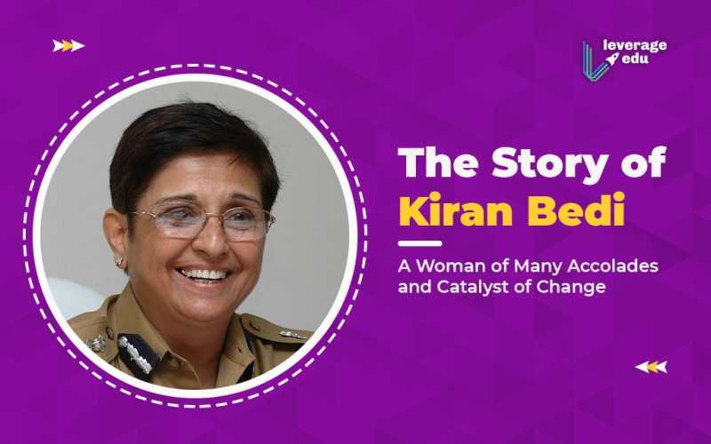 The Story of Kiran Bedi, A Woman of Many Accolades and Catalyst of Change