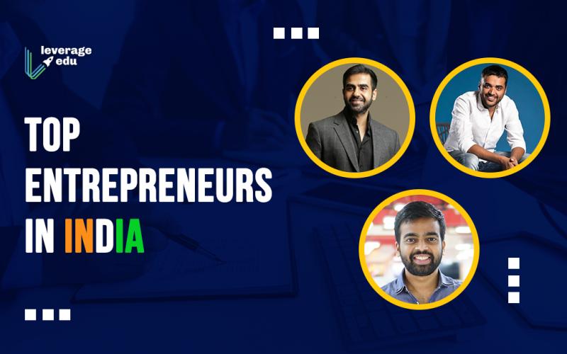 Top Entrepreneurs in India
