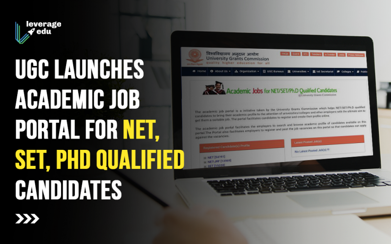 UGC launches academic job portal for NET, SET, PhD qualified candidates
