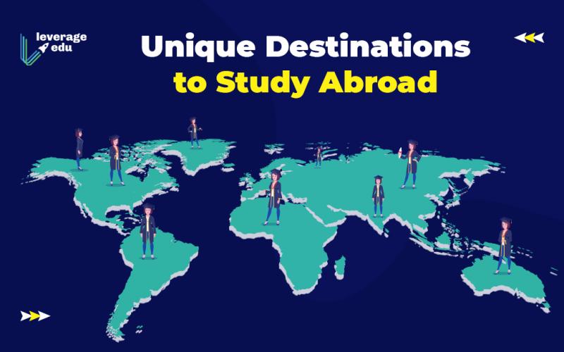 Unique Destinations to Study Abroad