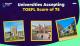 Universities Accepting TOEFL Score 75 and Below!