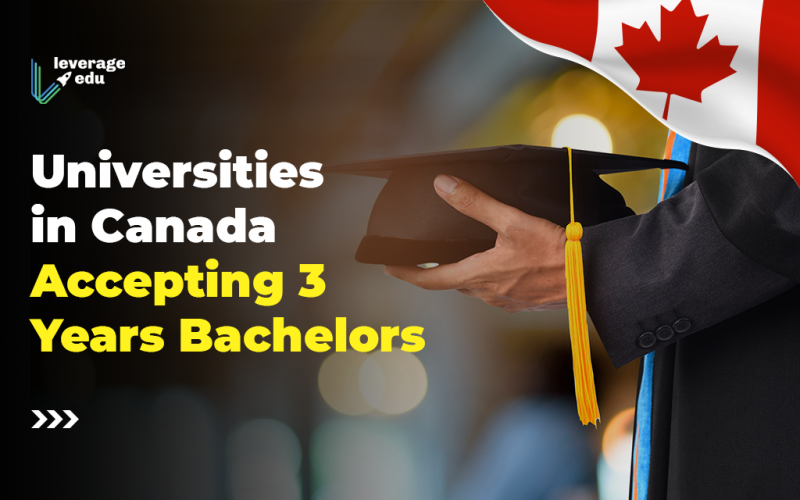 Universities in Canada Accepting 3 Years Bachelors