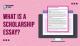 Scholarship Essay Examples