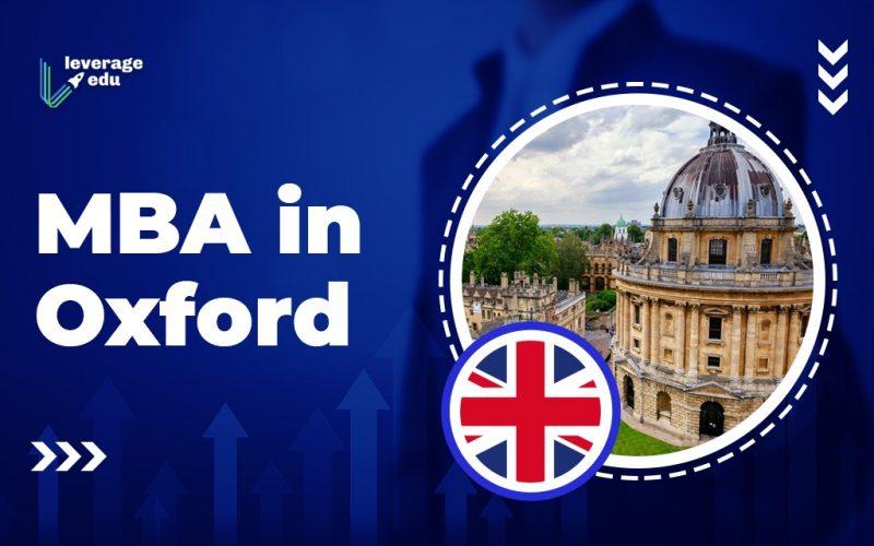 MBA in Oxford
