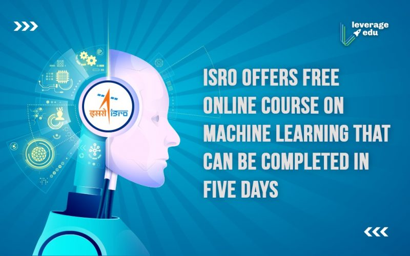 Free Online Course on Machine Learning by ISRO