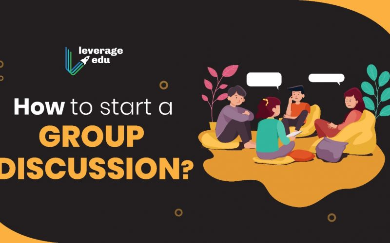 How to Start a Group Discussion?