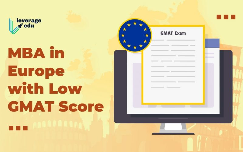 MBA with Low GMAT Score In Europe
