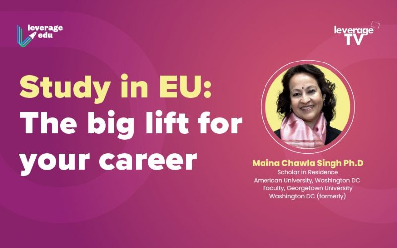 Why Study in EU
