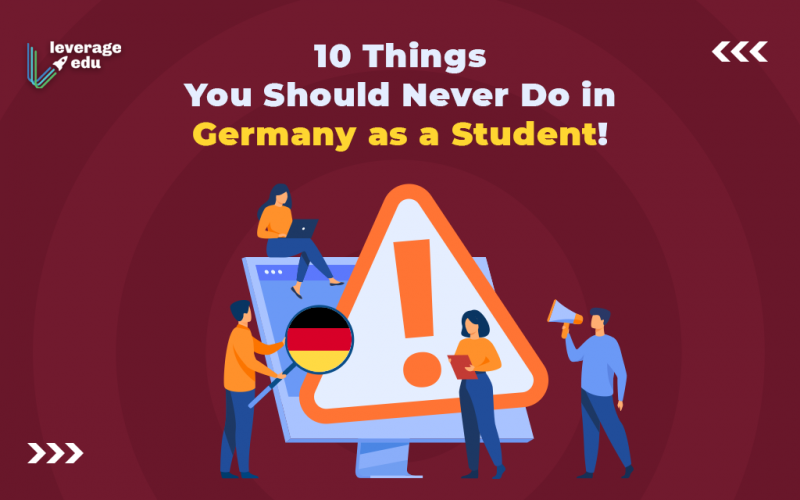 Things you should never do in Germany