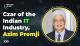 Czar of the Indian IT Industry, Azim Premji