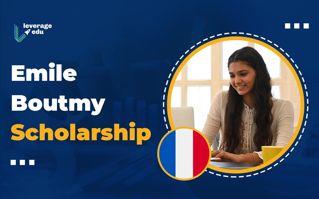 The Emile Boutmy Scholarship