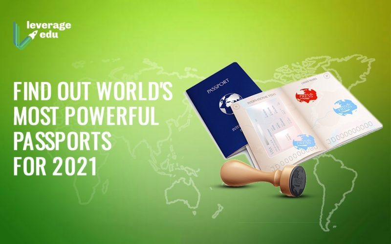 Find Out World's Most Powerful Passports for 2021
