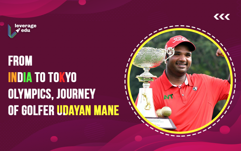 From India to TOkyo Olympics, Journey of Golfer Udayan Mane