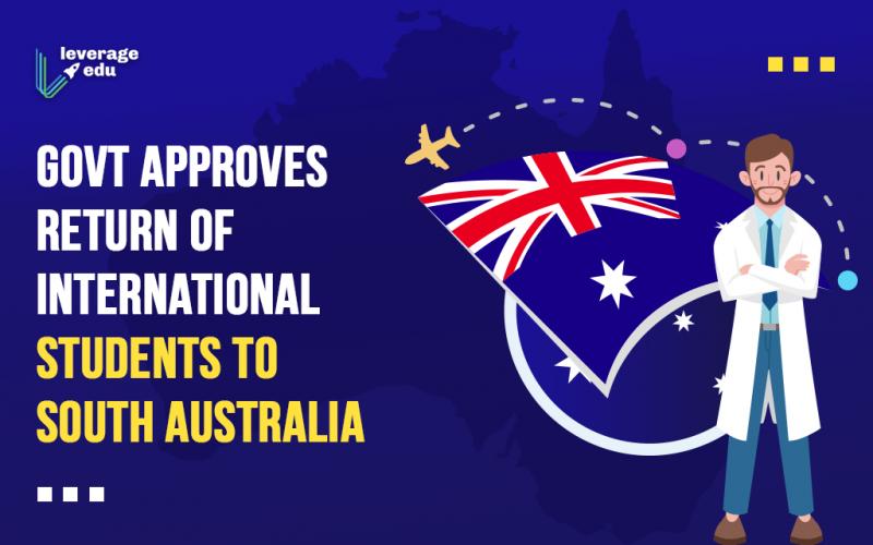 Govt Approves Return of International Students to South Australia