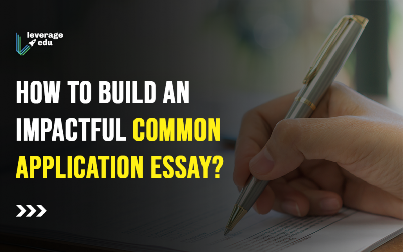 How to Build an Impactful Common Application Essay