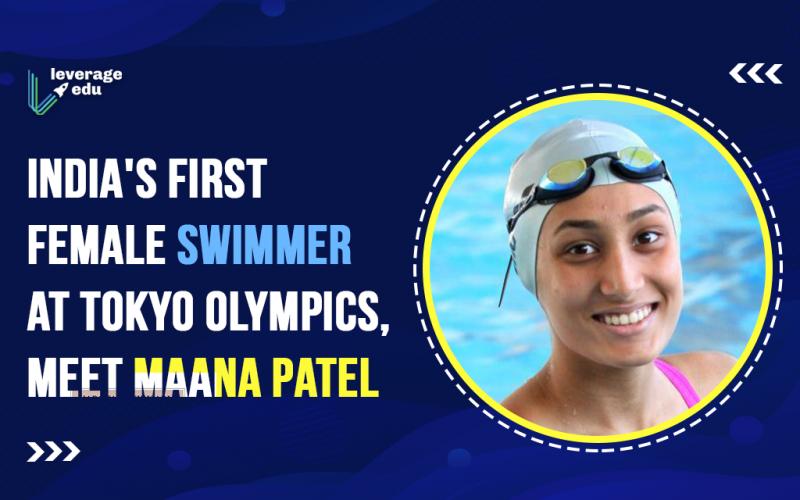 India's first female swimmer at Tokyo Olympics, Meet Maana Patel