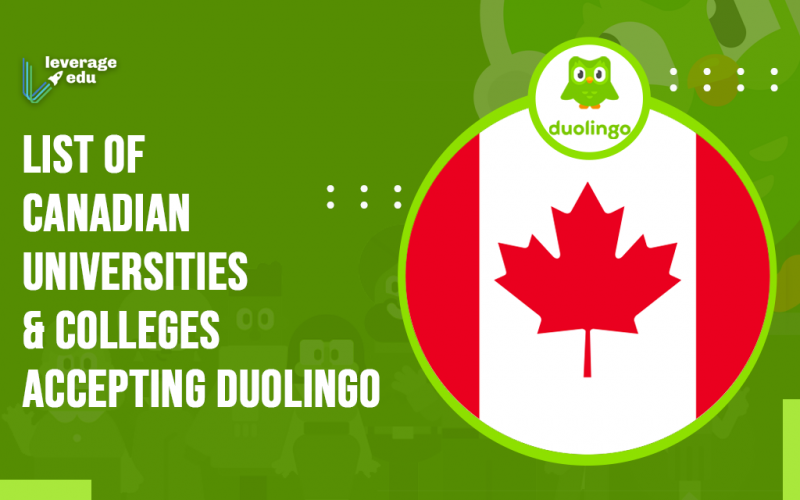 Canadian Universities and Colleges Accepting Duolingo
