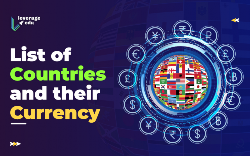 List of Countries and their Currency