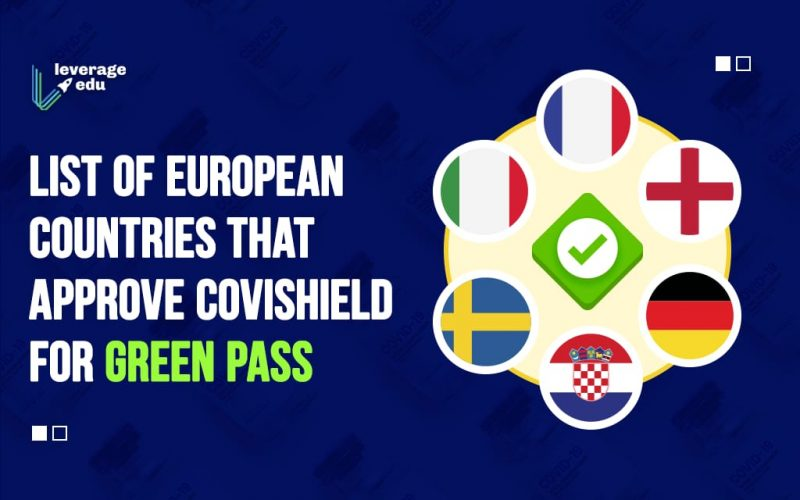 List of European Countries that Approve Covishield for Green Pass