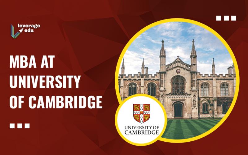 MBA at University of Cambridge
