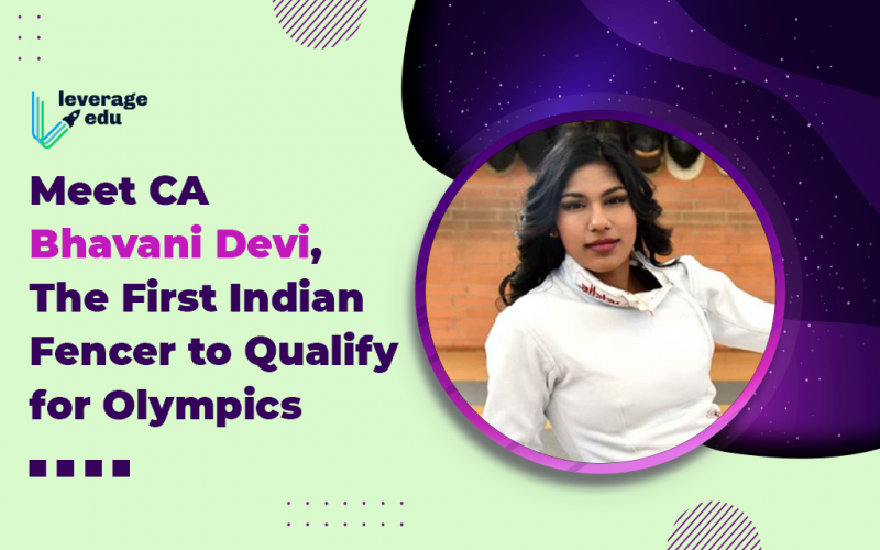 Meet CA Bhavani Devi, the First Indian Fencer to Qualify for Olympics