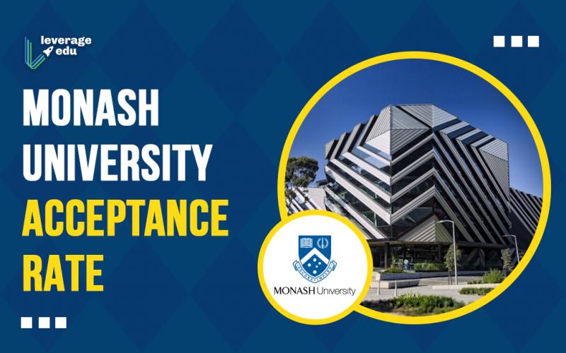 Monash University Acceptance Rate