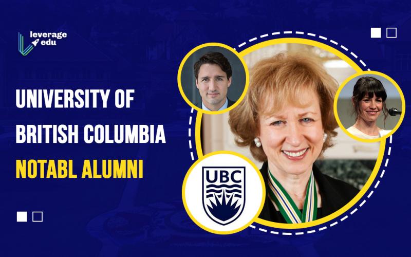University of British Columbia Notable Alumni