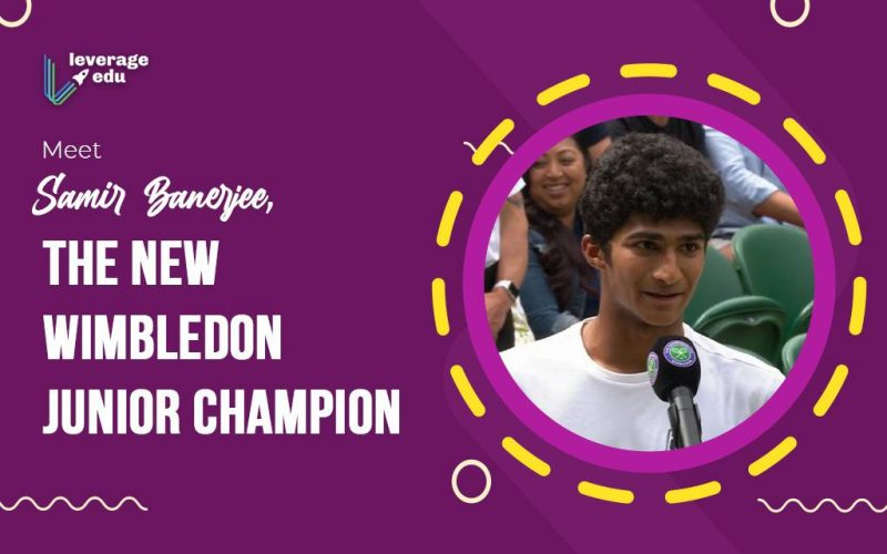 Meet Samir Banerjee, the New Wimbledon Junior Champion