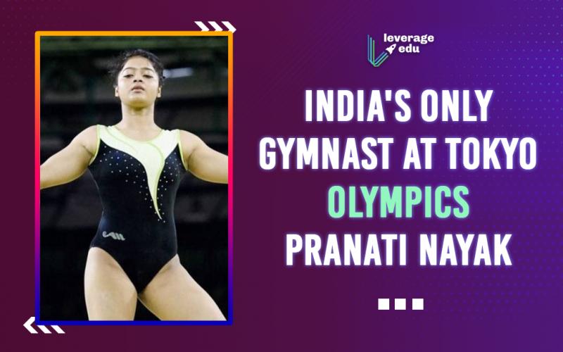 dia's Only Gymnast at Tokyo Olympics - Pranati Nayak